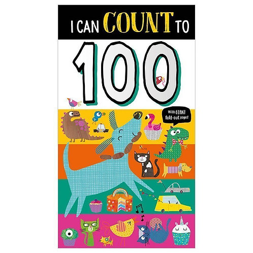 Libro inglés: Board book i can count to 100