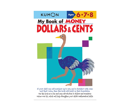 Libro Kumon My book of money dollars and cents