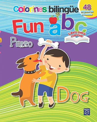 Libro Colorines bilingüe-fun abc