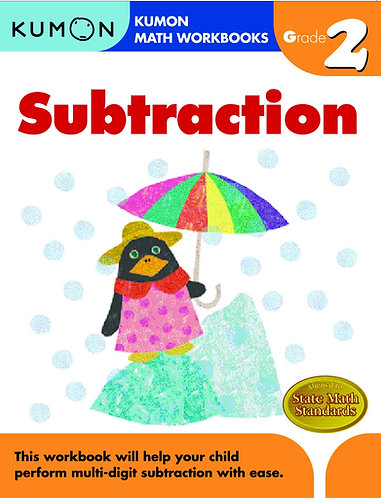 Libro kumon: Grade 2: Subtraction