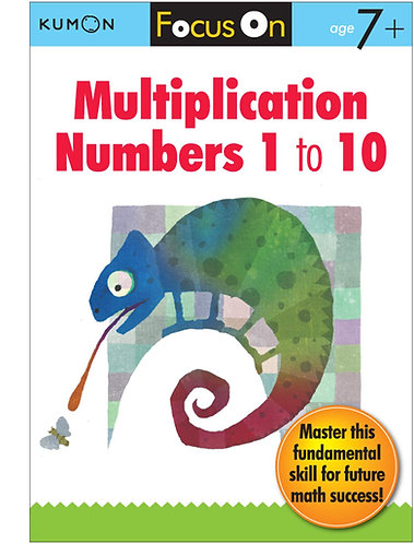 Libro kumon: Multiplication numbers 1-10