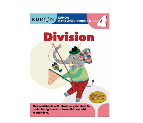 Libro Kumon Division grade 4