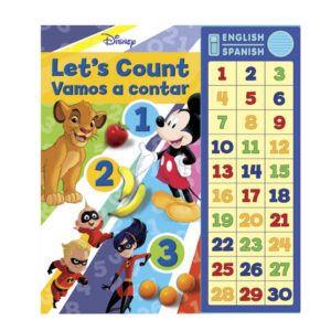 Libro Disney bilingüe Vamos a contar