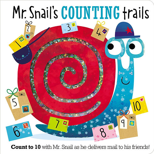 Libro Mr. snails counting trails