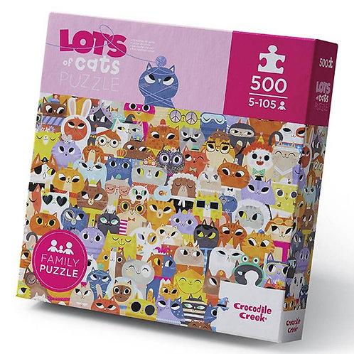 Rompecabezas 500 piezas Gatos