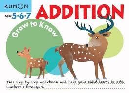 Libro kumon: Grow to know addition
