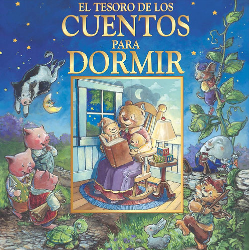 Libro El tesoro de los cuentos para dormir