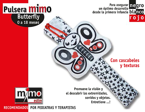 Producto Nacional: Pulsera Mimo Mariposa