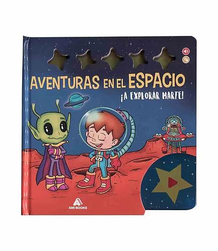 Libro Aventuras en el espacio ¡A explorar marte!