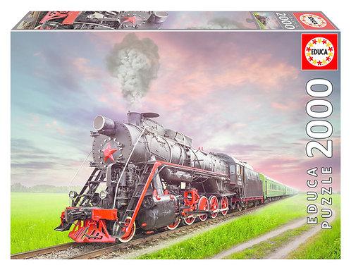 Rompecabezas 2.000 piezas El tren