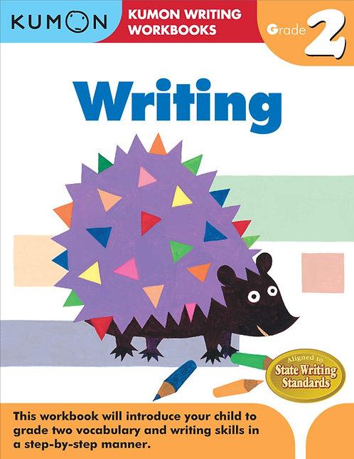 Libro kumon: Writing grade 2