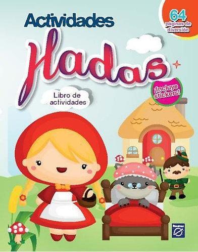 Libro de actividades Hadas