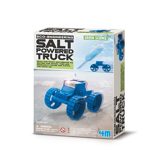 Experimento de juguete :  Camión de sal