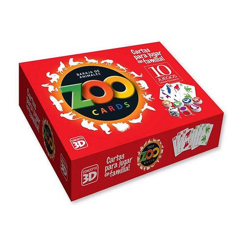 Producto nacional: Zoo Cards naipes X10 juegos