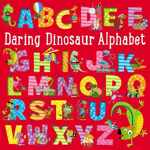 Libro inglés: Daring dinosaur alphabet