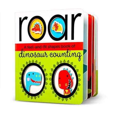 Libro En Ingles Feel And Fit Dinosaur Counting