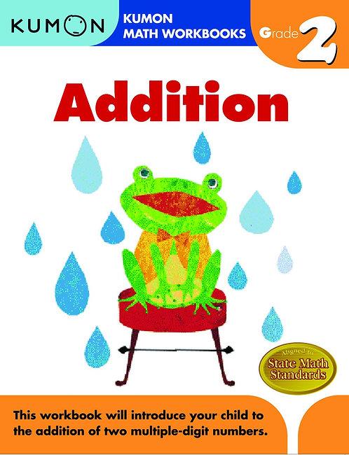 Libro Kumon Grade 2 Addition