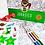 Thumbnail: Póster para colorear Jurásico + stickers