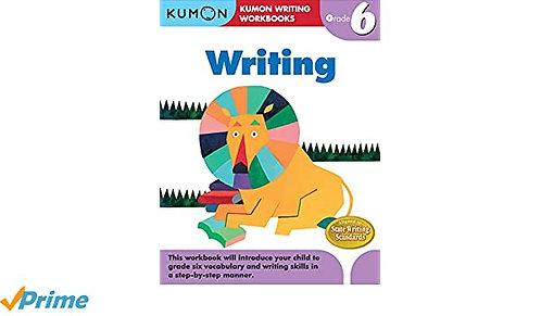 Libro Kumon Writing Grade 6