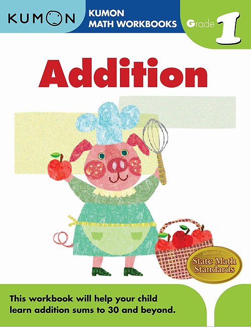 Libro kumon Grade 1 Addition