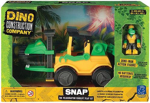 Camión de juguete dino Velociraptor