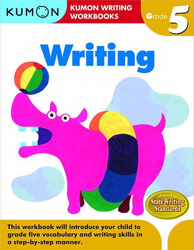 Libro kumon: Writing grade 5