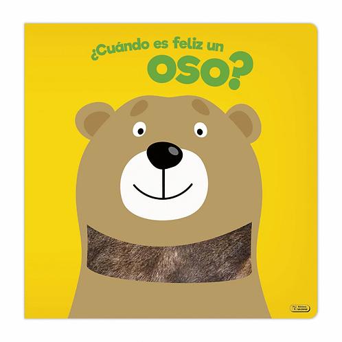 Libro Infantil ¿Cuándo Es Feliz Un Oso?
