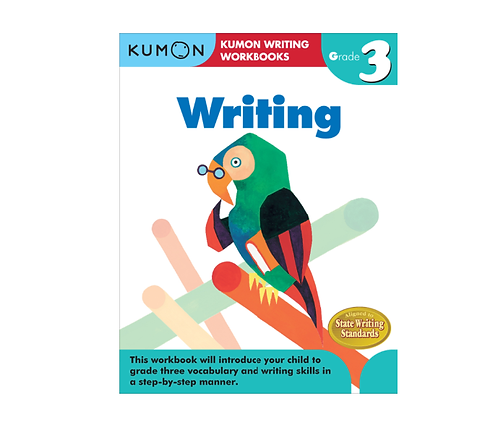 Libro Kumon Writing grade 3