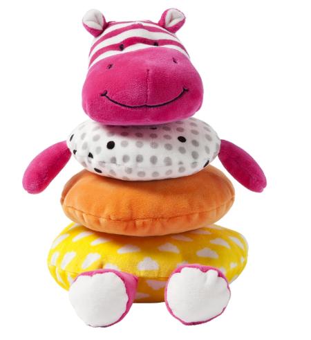 Apilador Hipopótamo De Peluche