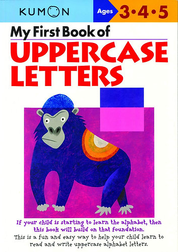 Libro kumon: Uppercase letters