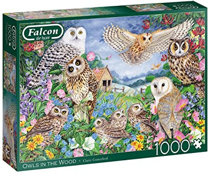 Rompecabezas 1.000 piezas Búhos