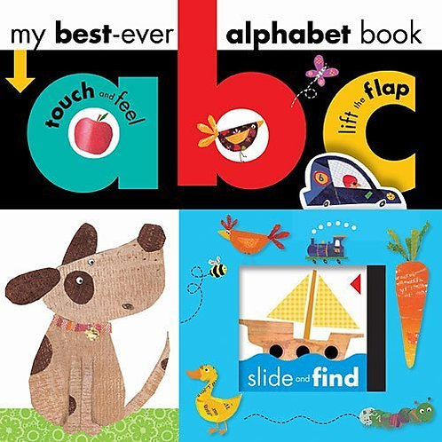 Libro inglés: Ever Abc alphabet book my best
