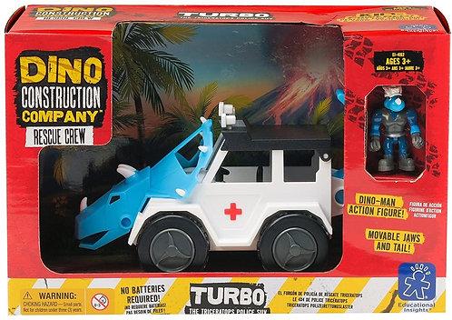 Camión de juguete dino Triceratops