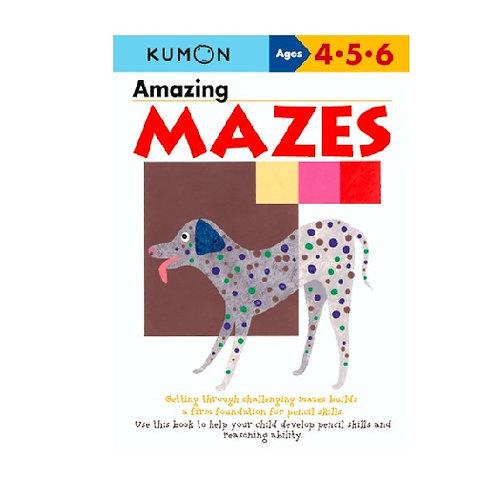 Libro Kumon Amazing Mazes