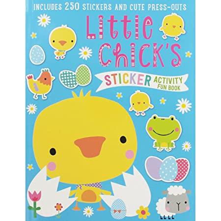 Libro De Actividades Sticker Activity Books Little Chicks