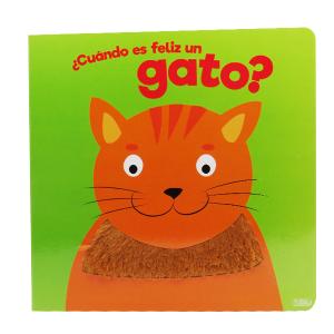 Libro infantil: ¿Cuándo es feliz un gato?