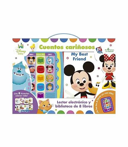 Libro Lector electrónico Cuentos cariñosos Disney