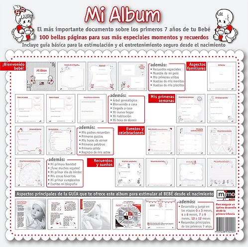 Producto Nacional: Álbum de Crecimiento del Bebé