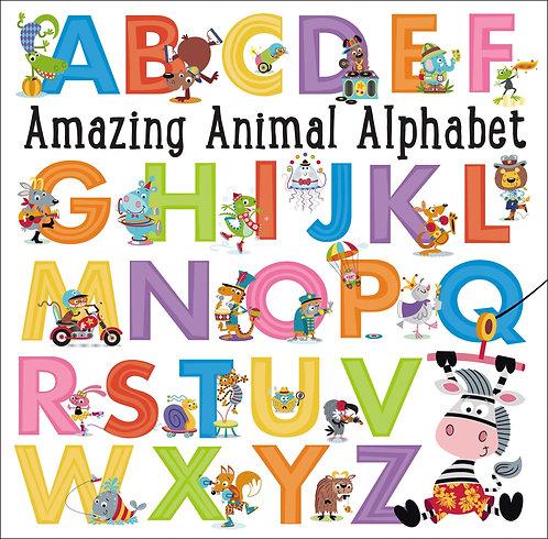 Libro inglés: Amazing animal alphabet
