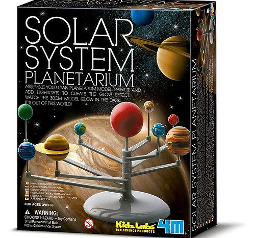 Planetario del sistema solar