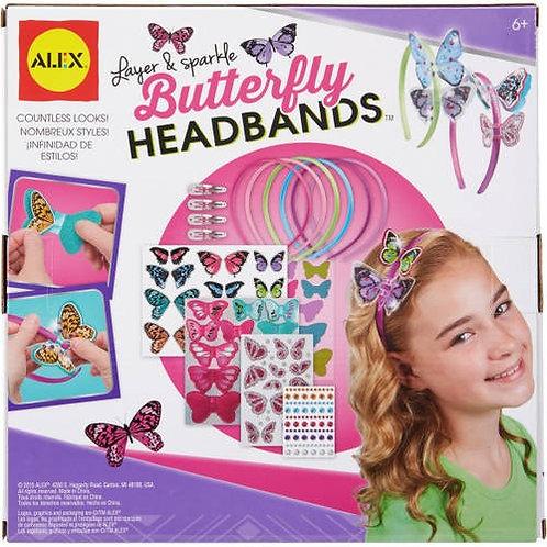 Manualidades :  Balacas para decorar-Mariposas