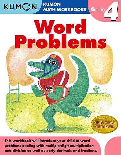 Libro kumon: Grade 4: Word problems