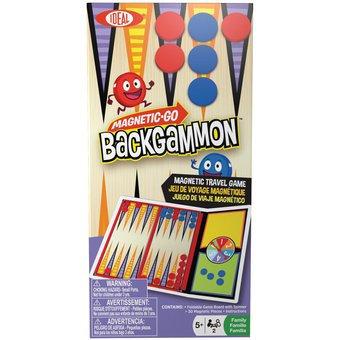 Juego Backgammon magnético
