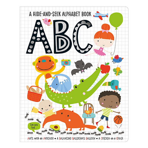 Libro inglés: Hide and seek abc