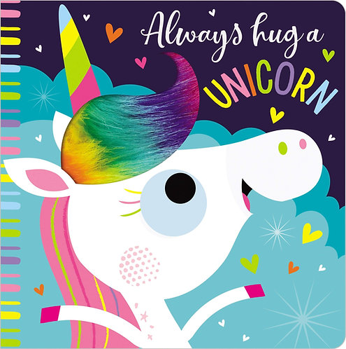 Libro De Texturas Always Hug A Unicorn