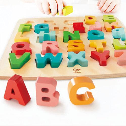 Rompecabezas letras del abecedario