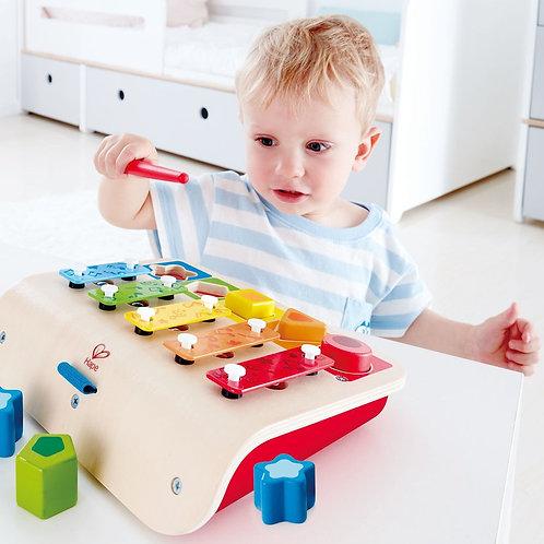 Xilófono con formas y colores