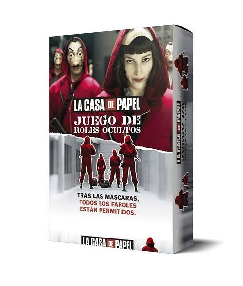 Juego de mesa La casa de papel roles ocultos