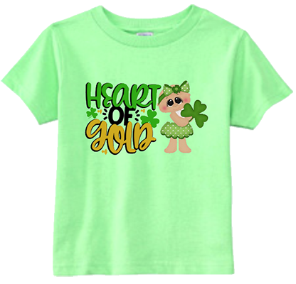 Heart of Gold Girl Infant/Toddler Tee