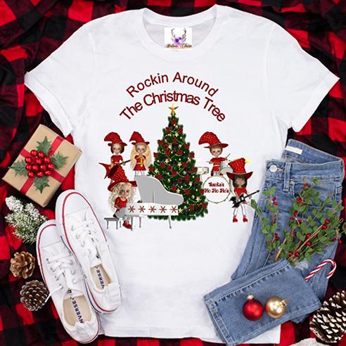 Santa's Ho Ho Ho's Tee